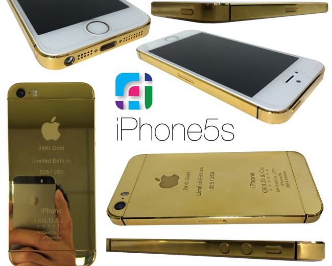 24k iPhone 5s