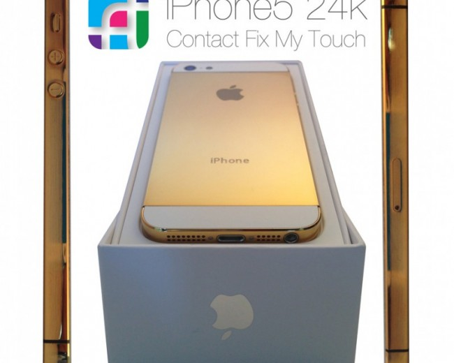 24k gold iPhone5 Boxed