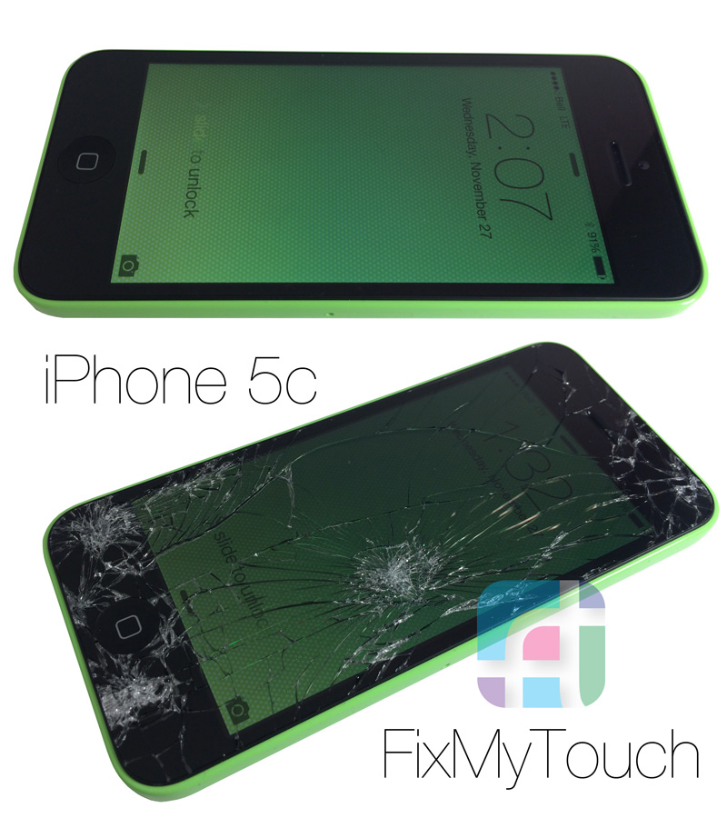 Iphone 5C Cell Phone Repair - Fix My Touch Kelowna