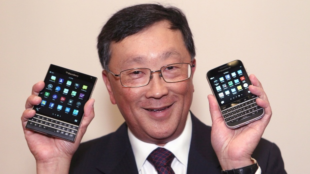 Blackberry Launches New Phone . . .