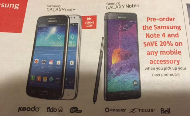 Samsung Galaxy Note 4 pre-orders!