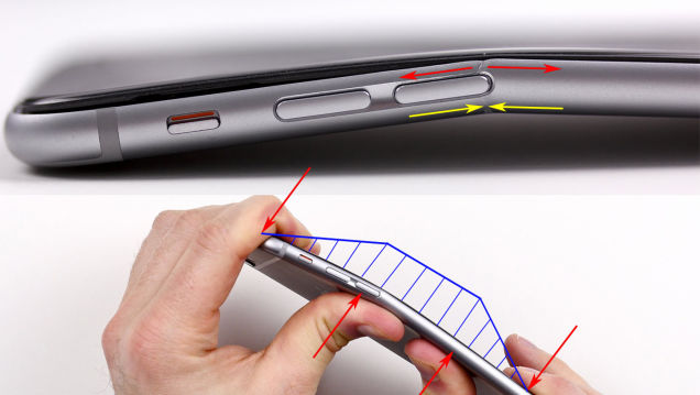 Why iPhone 6 Plus bends