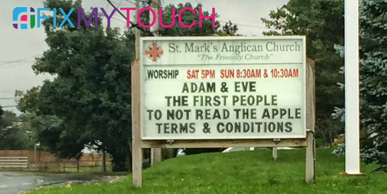 Who has read Apple's Terms & Conditions?