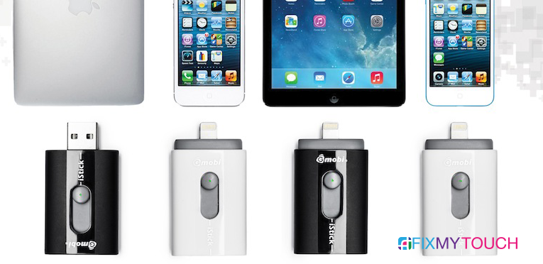 iStick for iPad, iPhone, iPod, Macbook Pro, Mac Pro, and PC :-0
