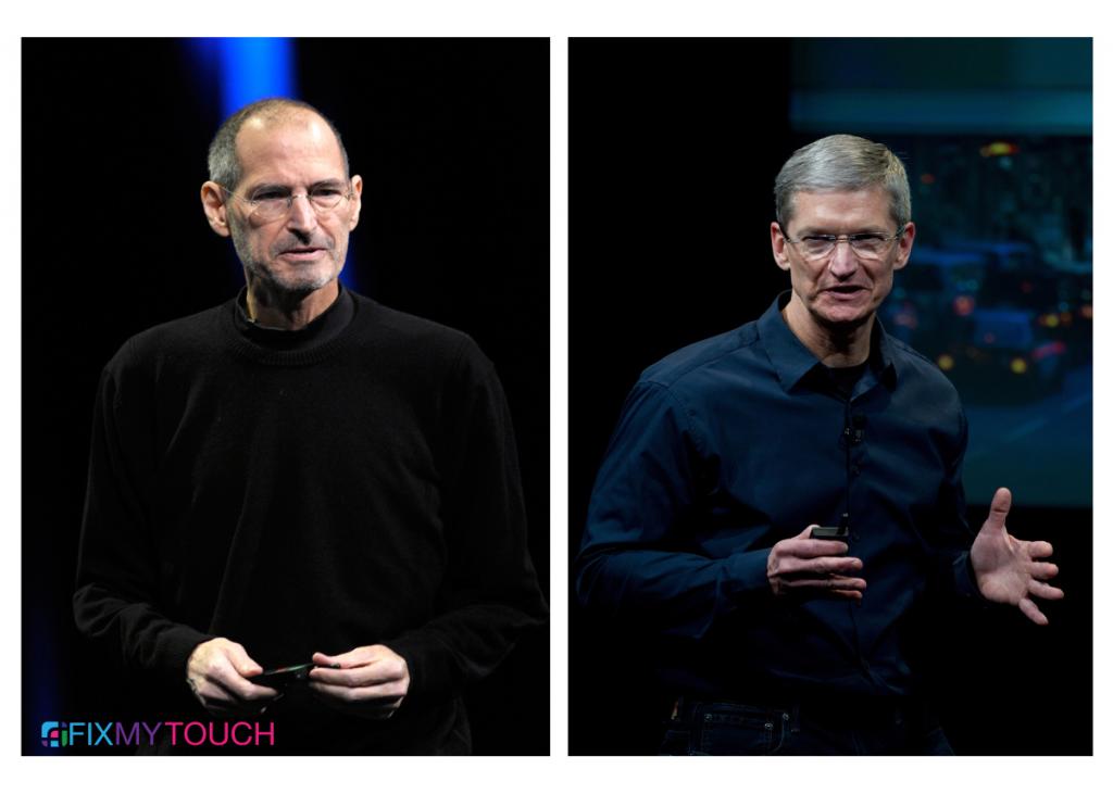 "Tim Cook ""Jobs made our world better."""