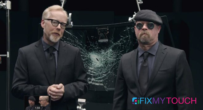 MythBusters explain the science behind Corning's new shatter-resistant Gorilla Glass 4