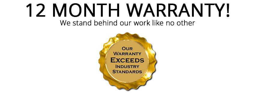 12 month warranty on device repairs Fix My Touch Kelowna