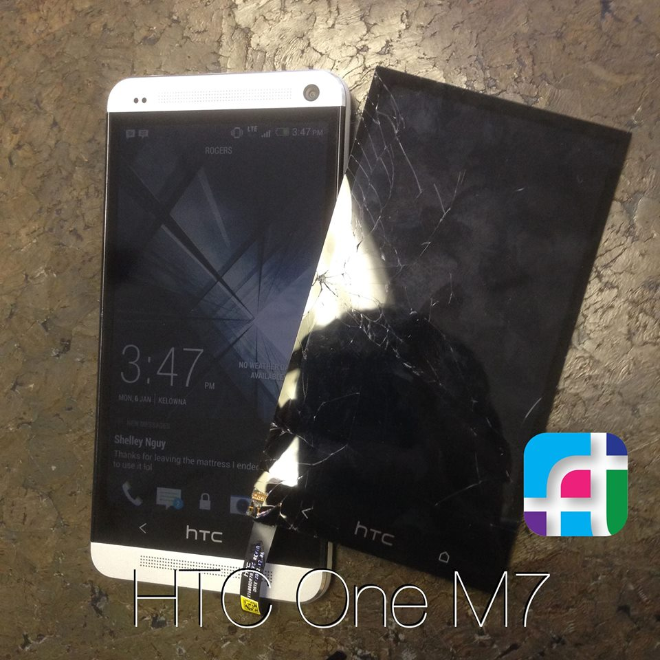 HTC one screen repair - Fix My Touch Kelowna