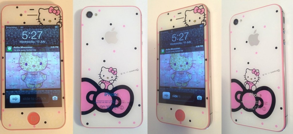 iPhone repair and modification - Fix My Touch - Hello Kitty iPhone