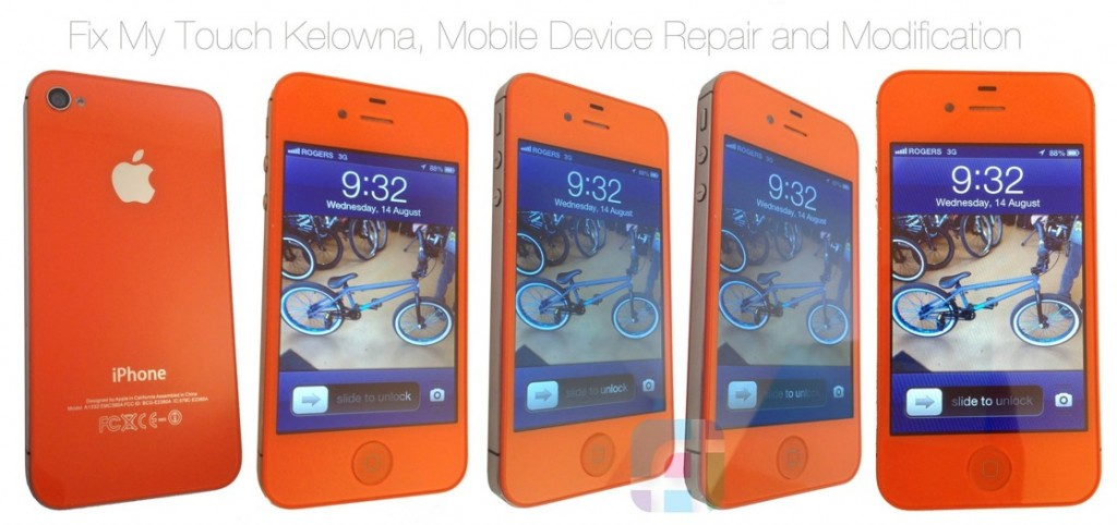 iPhone repair and modification - Fix My Touch - Orange iPhone