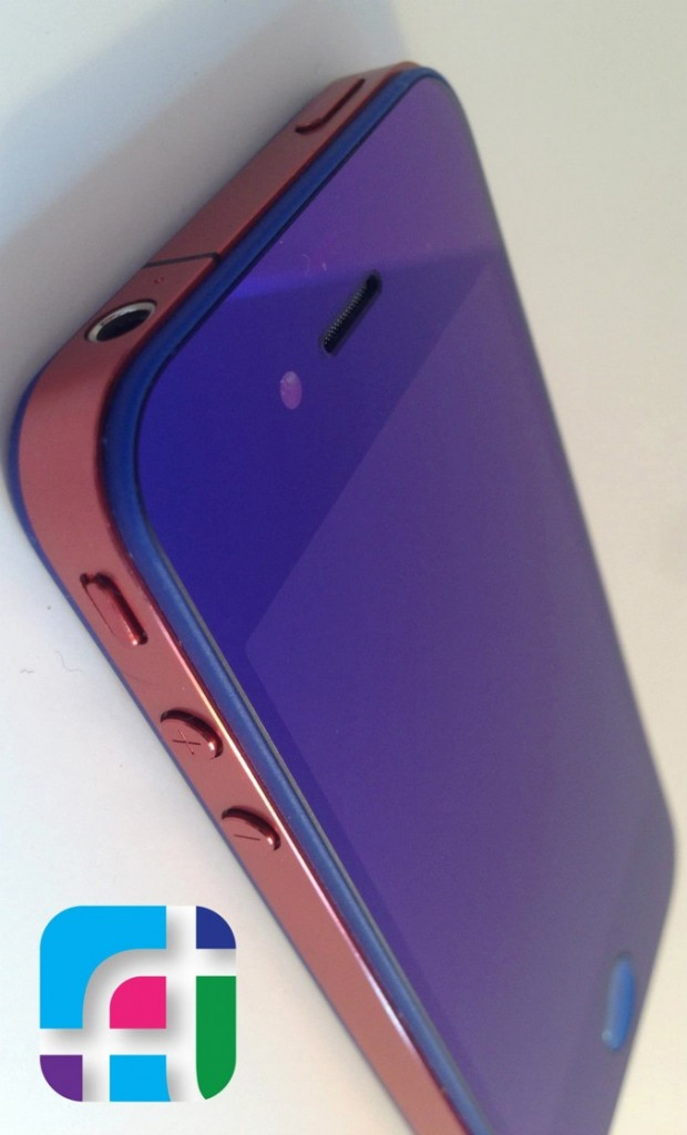 iPhone repair and modification - Fix My Touch - Purple screen with pink casing on iPhone