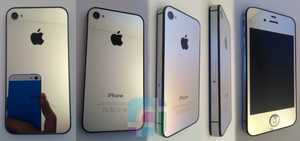 iPhone repair and modification - Fix My Touch - Silver mirrored iPhone