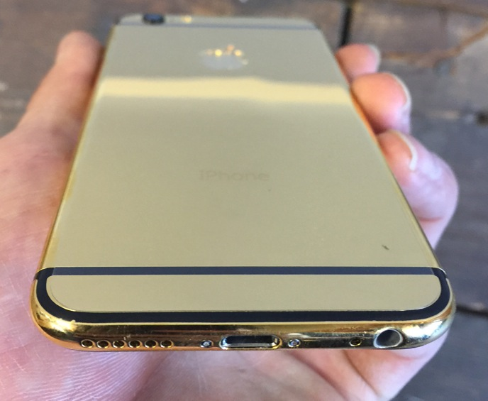 Kelowna Cell Repair - Fix My Touch Gold iPhone 6 rear housing