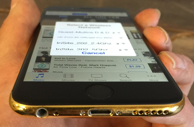 Kelowna Cell Repair - Fix My Touch Gold iPhone 6 custom modification
