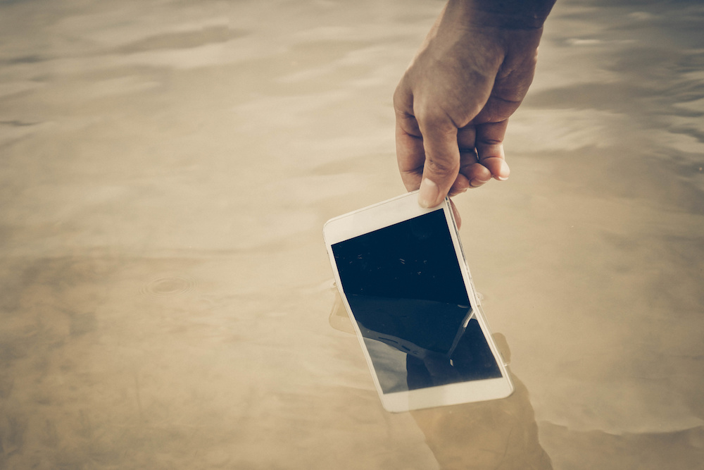 Oops! You Dropped Your Smartphone in Water- Now What?